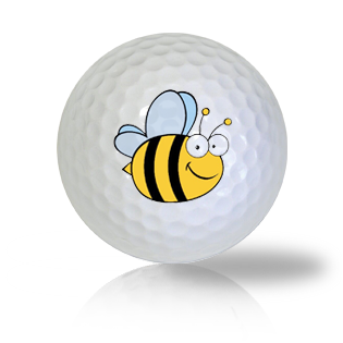 Cartoon Bee Golf Balls Used Golf Balls - Foundgolfballs.com