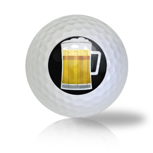 St. Patrick's Day Beer Mug Golf Balls