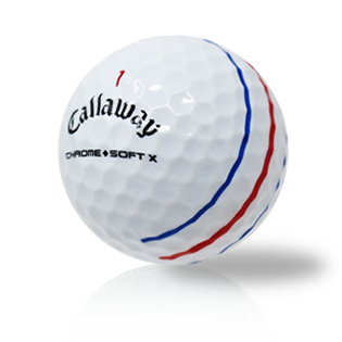 Callaway Chrome Soft X Triple Track Used Golf Balls - Foundgolfballs.com