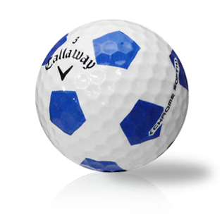 Callaway Chrome Soft Truvis Blue Used Golf Balls - Foundgolfballs.com