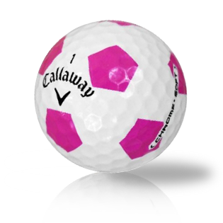 Callaway Chrome Soft Truvis Pink Used Golf Balls - Foundgolfballs.com