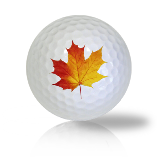 Maple Leaf Golf Balls - Found Golf Balls