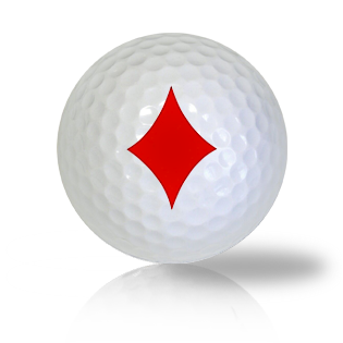 Diamonds Golf Balls - Found Golf Balls