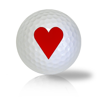 Hearts Golf Balls - Found Golf Balls
