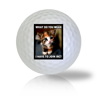 Cat Golf Balls - Found Golf Balls