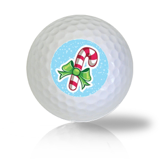 Candy Cane Golf Balls - Found Golf Balls