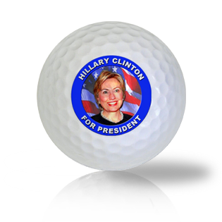 Hillary Clinton For President 2016 Golf Balls - Found Golf Balls
