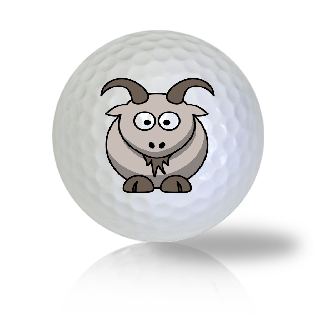 Cute Goat Golf Balls Used Golf Balls - Foundgolfballs.com