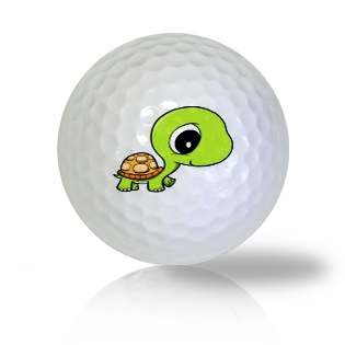 Cute Walking Baby Turtle Golf Balls Used Golf Balls - Foundgolfballs.com