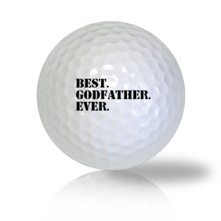 Best GodFather Ever Golf Balls