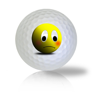 Doomsday Emoticon Golf Balls - Found Golf Balls