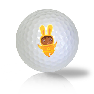 Easter Bunny Golf Balls - Found Golf Balls
