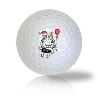 Easter Bunny Golf Balls