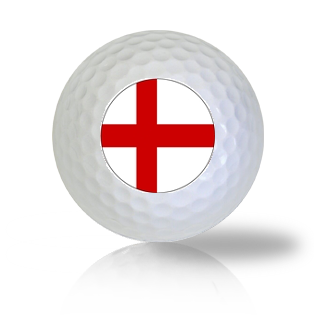 England Flag Golf Balls - Found Golf Balls