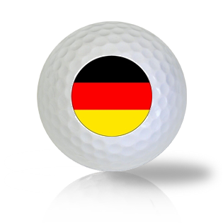 Germany Flag Golf Balls - Found Golf Balls
