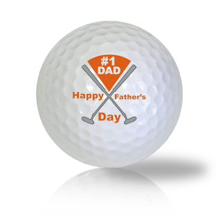 #1 Dad Golf Balls Used Golf Balls - Foundgolfballs.com