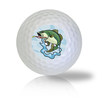 Fish Golf Balls - Found Golf Balls