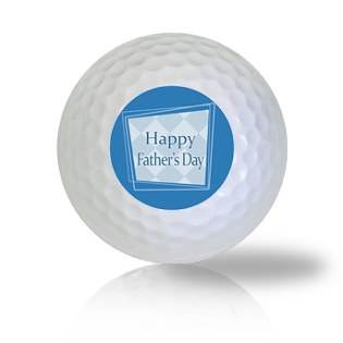 Happy Father's Day Golf Balls Used Golf Balls - Foundgolfballs.com