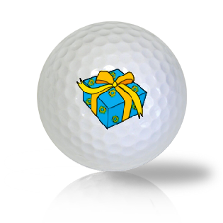 Happy Hanukkah Gift Golf Balls Used Golf Balls - Foundgolfballs.com