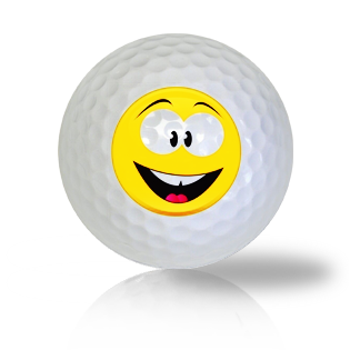 Joy Emoticon Golf Balls