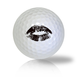 Kissy Lips Golf Balls Used Golf Balls - Foundgolfballs.com