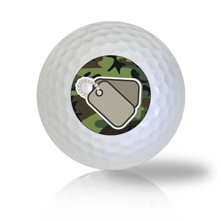 Dog Tags Golf Balls - Found Golf Balls