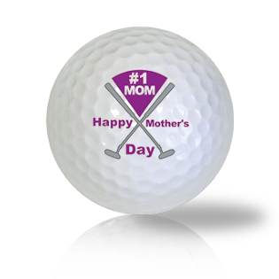 #1 Mom Golf Balls - Found Golf Balls