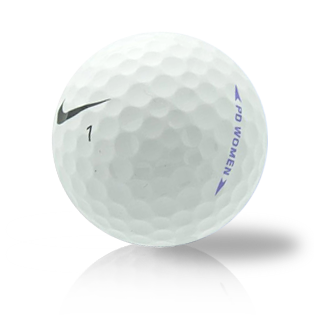 Nike PD Women White Used Golf Balls - Foundgolfballs.com