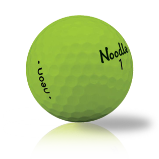 Noodle Neon Matte Green Used Golf Balls - Foundgolfballs.com