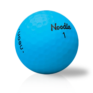 Noodle Neon Matte Blue Used Golf Balls - Foundgolfballs.com
