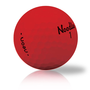 Noodle Neon Matte Red Used Golf Balls - Foundgolfballs.com