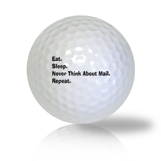 Retired & Off The Grid Golf Balls