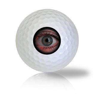 PeepHole Staring Eye Golf Balls