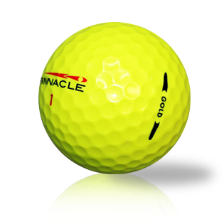 Custom Pinnacle Yellow Mix Used Golf Balls - Foundgolfballs.com