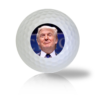 Donald Trump Golf Balls Used Golf Balls - Foundgolfballs.com