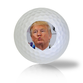 Donald Trump Pucker Golf Balls Used Golf Balls - Foundgolfballs.com