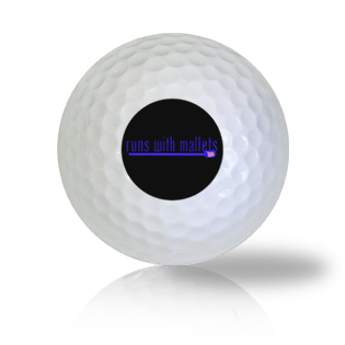 Runs With Mallets Golf Balls Used Golf Balls - Foundgolfballs.com