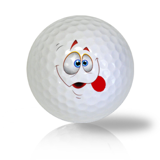Funny Clown Face Golf Balls Used Golf Balls - Foundgolfballs.com