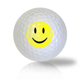 Mr. Smiley Emoticon Golf Balls
