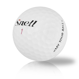 Custom Snell My Tour Ball Used Golf Balls - Foundgolfballs.com
