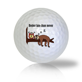Super Snoozer Golf Balls Used Golf Balls - Foundgolfballs.com
