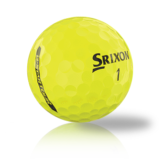 Custom Srixon Q-Star Tour Yellow