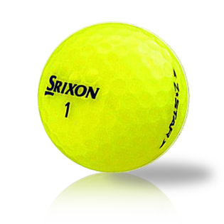 Custom Srixon Z-Star Yellow Used Golf Balls - Foundgolfballs.com