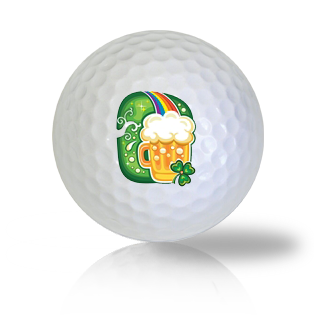 St. Patrick's Day Beer Mug Golf Balls - Found Golf Balls
