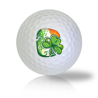St. Patrick's Day Clover Golf Balls Used Golf Balls - Foundgolfballs.com