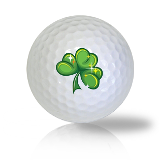 St. Patrick's Day Shamrock Golf Balls