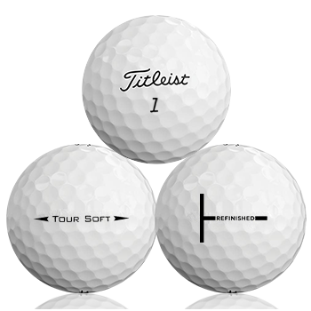 Custom Titleist Tour Soft Refinished (T-Line) Used Golf Balls - Foundgolfballs.com