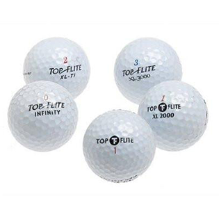 Bulk Top Flite Mix Used Golf Balls - Foundgolfballs.com