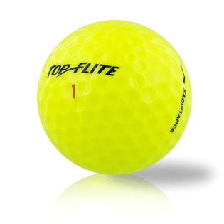 Bulk Top Flite Yellow Mix Used Golf Balls - Foundgolfballs.com
