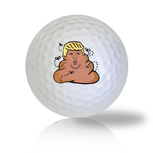 Donald Trump Pile of Garbage Golf Balls Used Golf Balls - Foundgolfballs.com